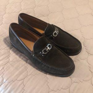 Men's Suede Salvatore Ferragamo Suede loafers